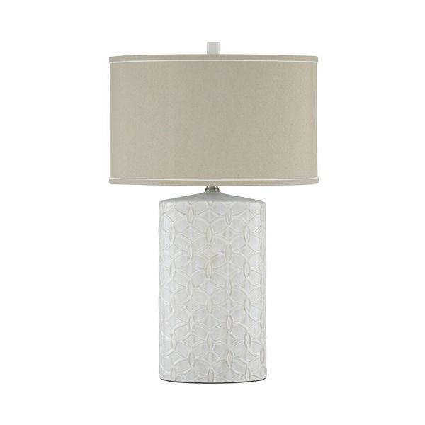 Picture of Cecilia Ceramic Table Lamp - Antique White