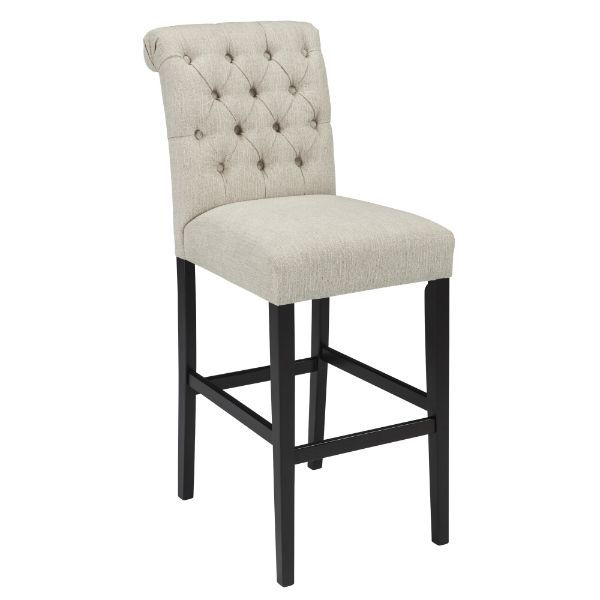 """Picture of Tripton 30"""" Stool  Linen"""