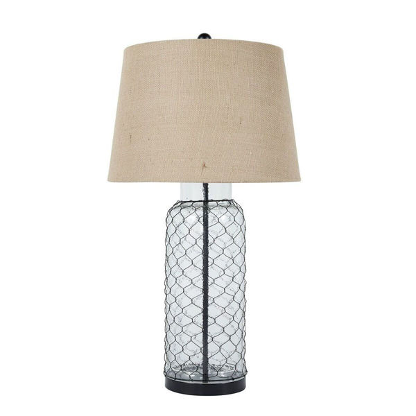 Shantell Glass Table Lamp