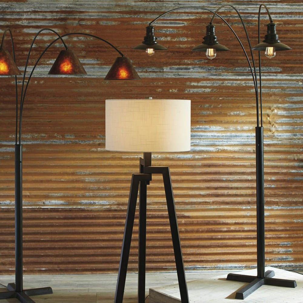 Alanza Metal Arc Lamp - Each Lamp Sold Separately