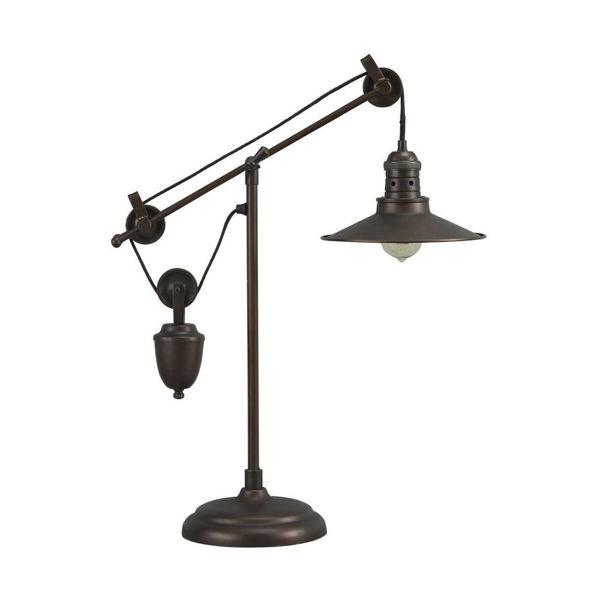 Taura Metal Desk Lamp - Bronze