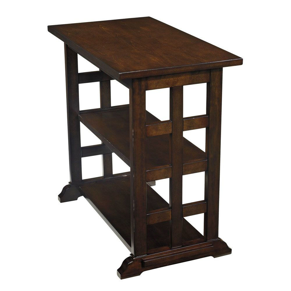 Beaubois Chairside End Table - Brown