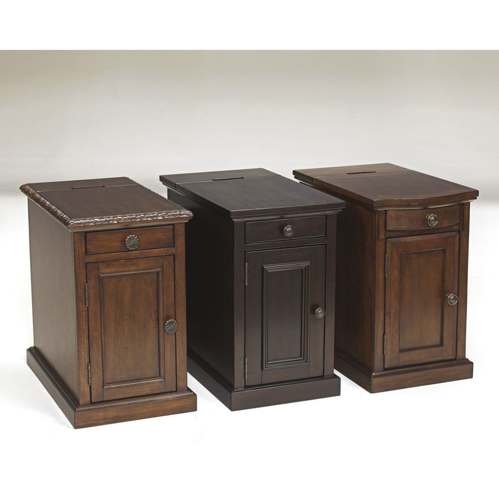 Guilder Chairside End Table - Sable - Other End Tables Sold Separately
