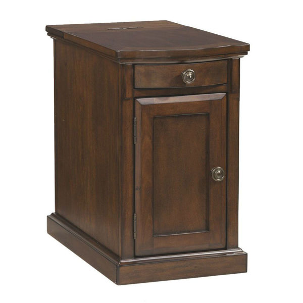 Guilder Chairside End Table - Medium Brown
