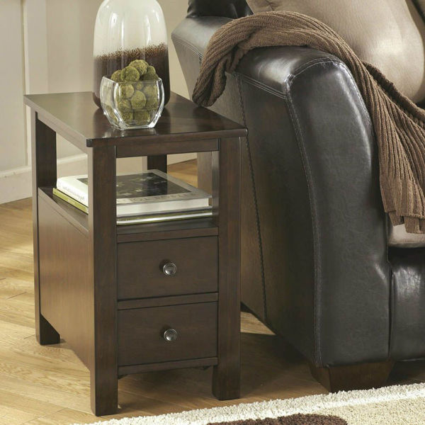 Marise Chairside End Table - Brown