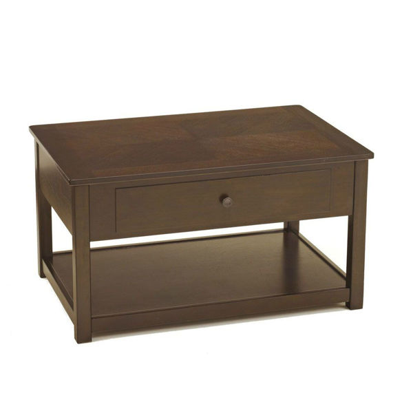 Marise Lift Top Cocktail Table - Brown