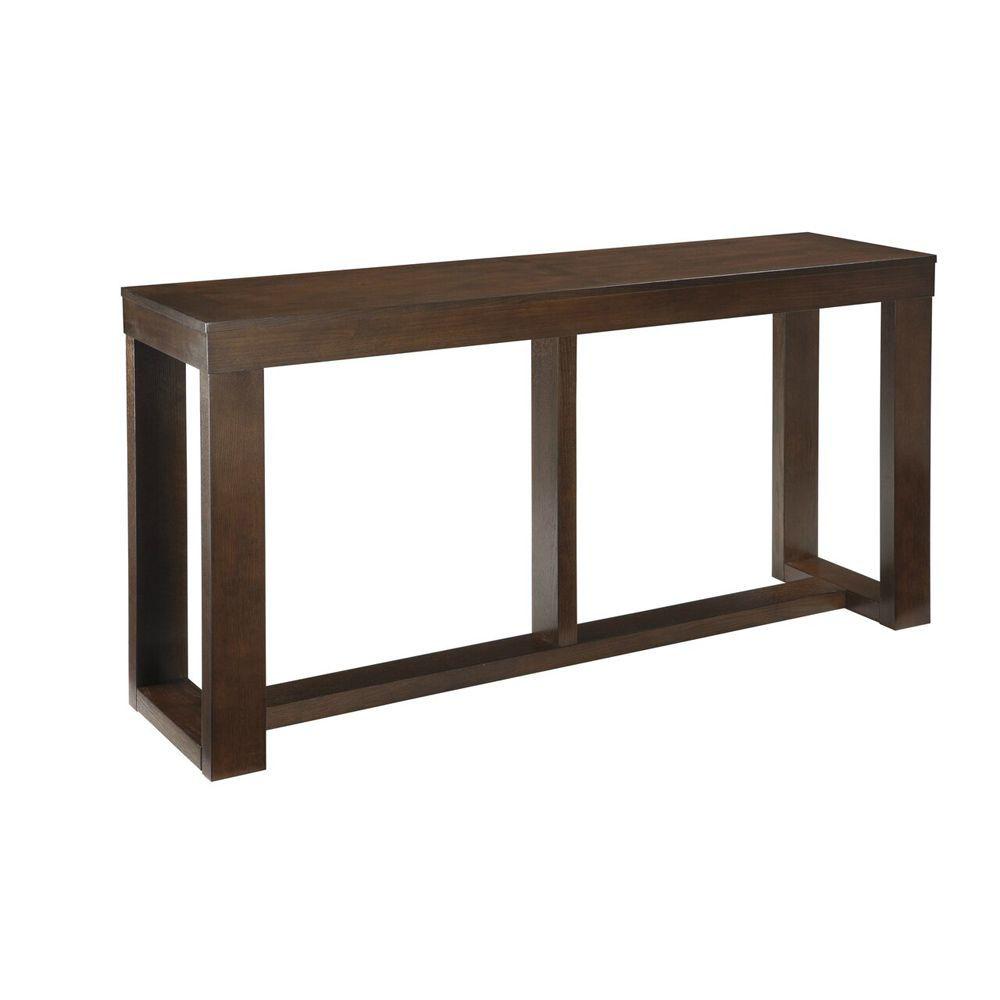 Valtteri Sofa Table - Dark Brown