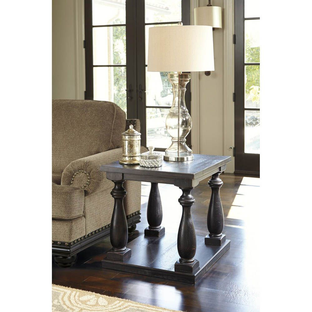Picture of Amelia Rectangular End Table - Black