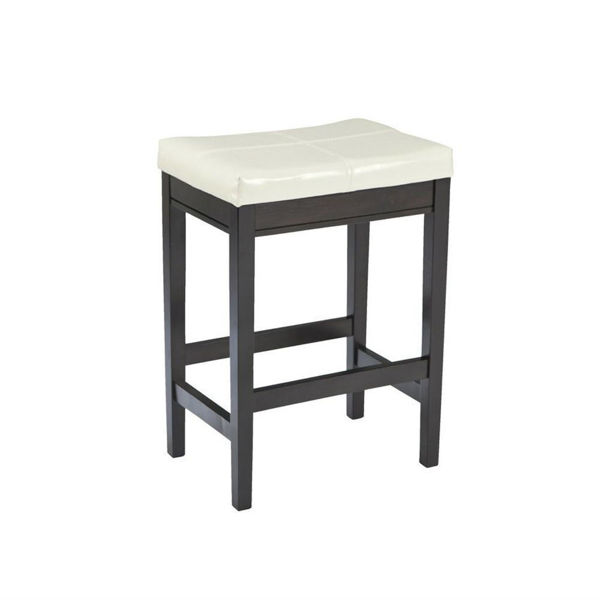 Balmont Upholstered Barstool - Ivory - Set of 2