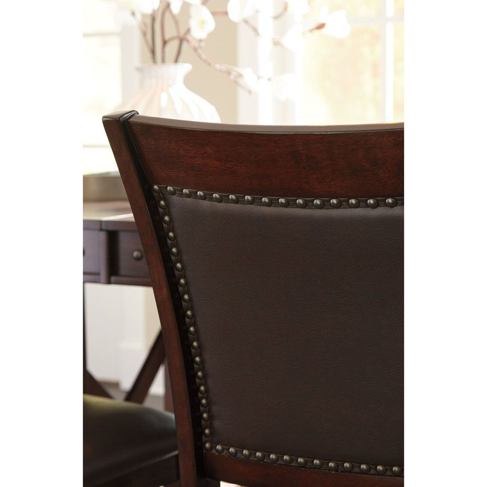 Coilean Upholstered Barstool - Set of 2 - Detail