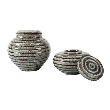 Devonee Jars - Set of 2