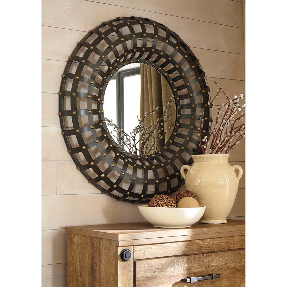 Ogier Round Mirror - Lifestyle