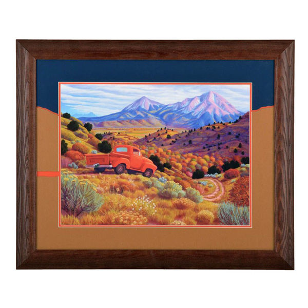 Autumn By The Spanish Peaks by Stephen Morath