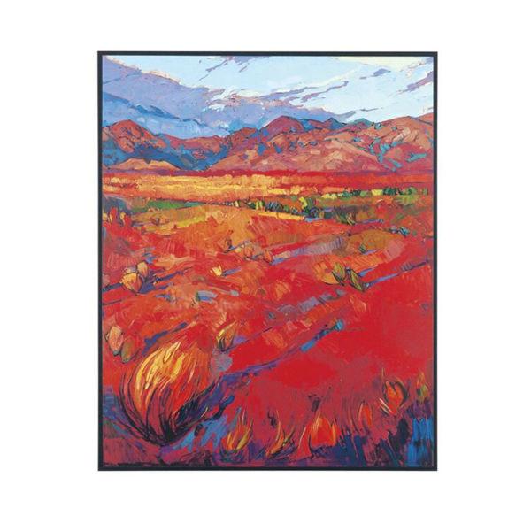 Desert Rainbow Canvas Print - Center