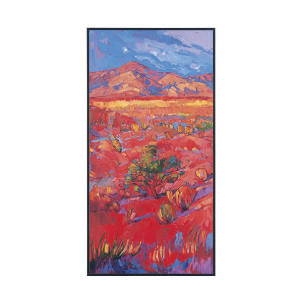 Desert Rainbow Canvas Print - Left