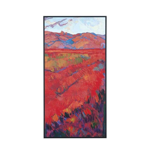 Desert Rainbow Canvas Print - Right