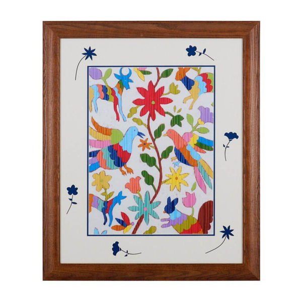 Picture of Otomi Embroidery I by Chariklia Zarris
