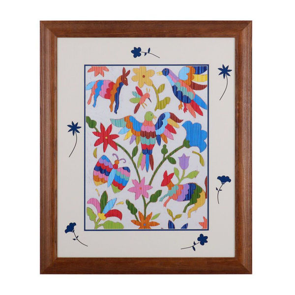 Picture of Otomi Embroidery II by Chariklia Zarris
