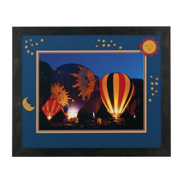 Sun and Moon Balloon Glow Print