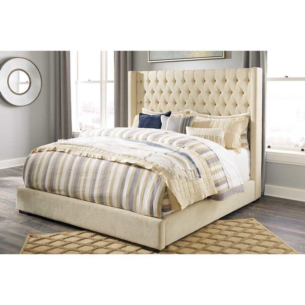 Emery Bed - Beige