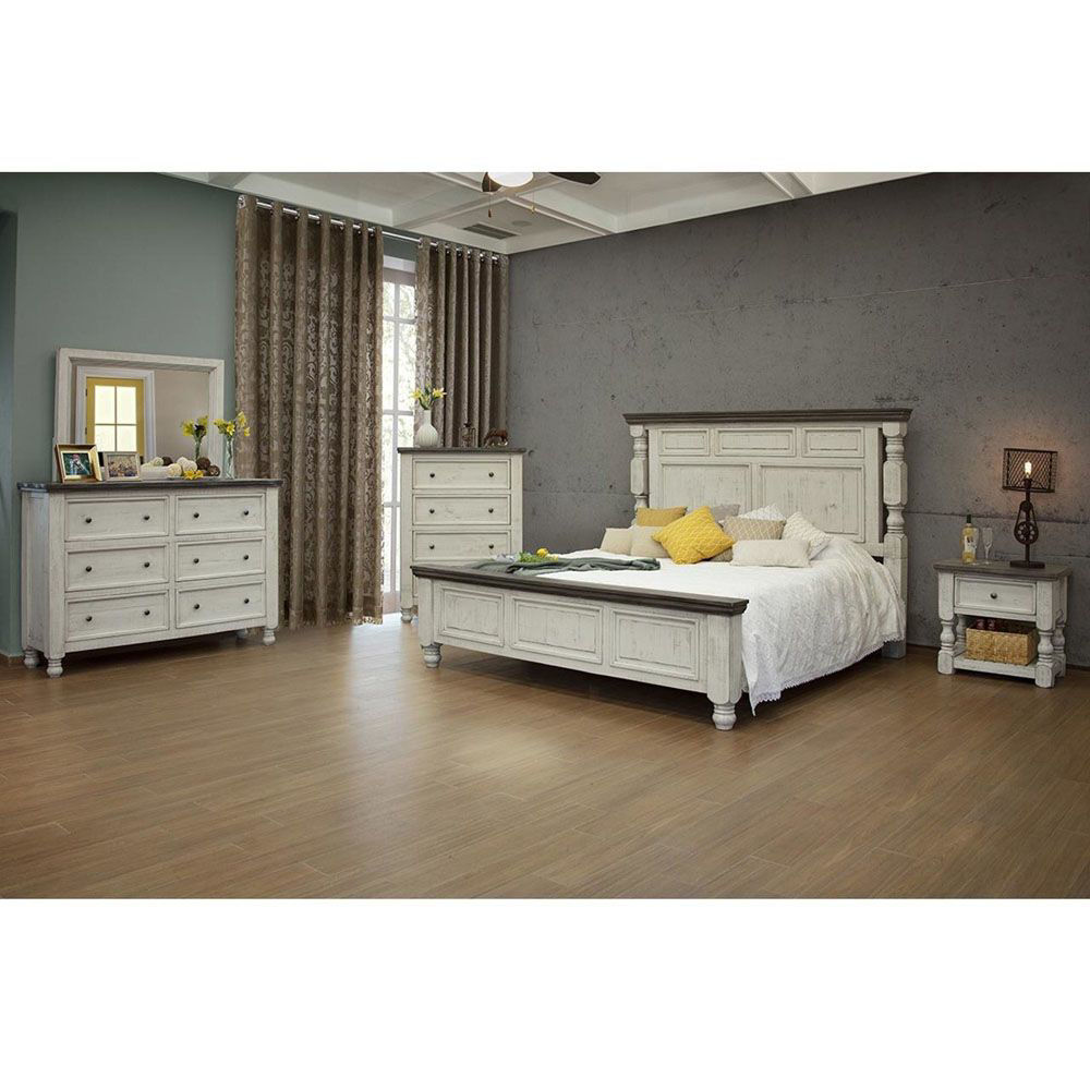Stone Bedroom Group – Each Item Sold Separately