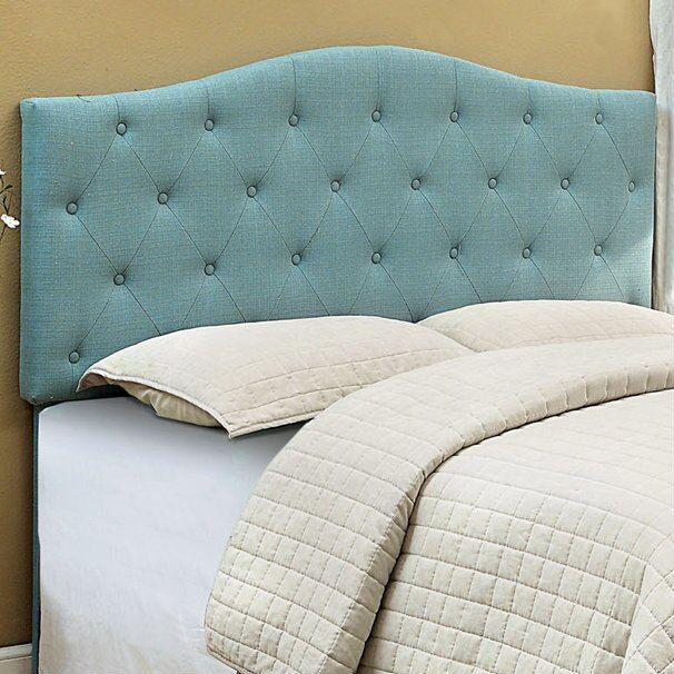 Alipaz Blue Upholstered Headboard