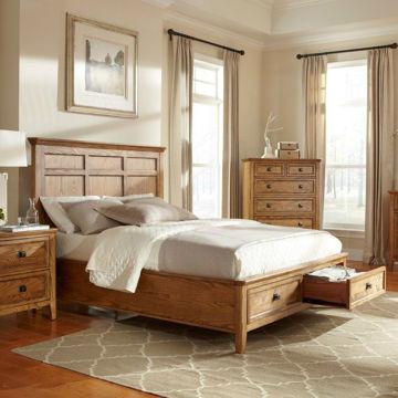 Picture of Alta Bedroom Storage Bed