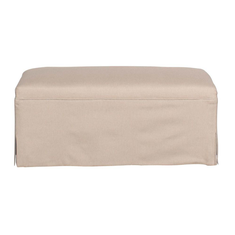 Barcelona Slip Cover Bench - Head On View