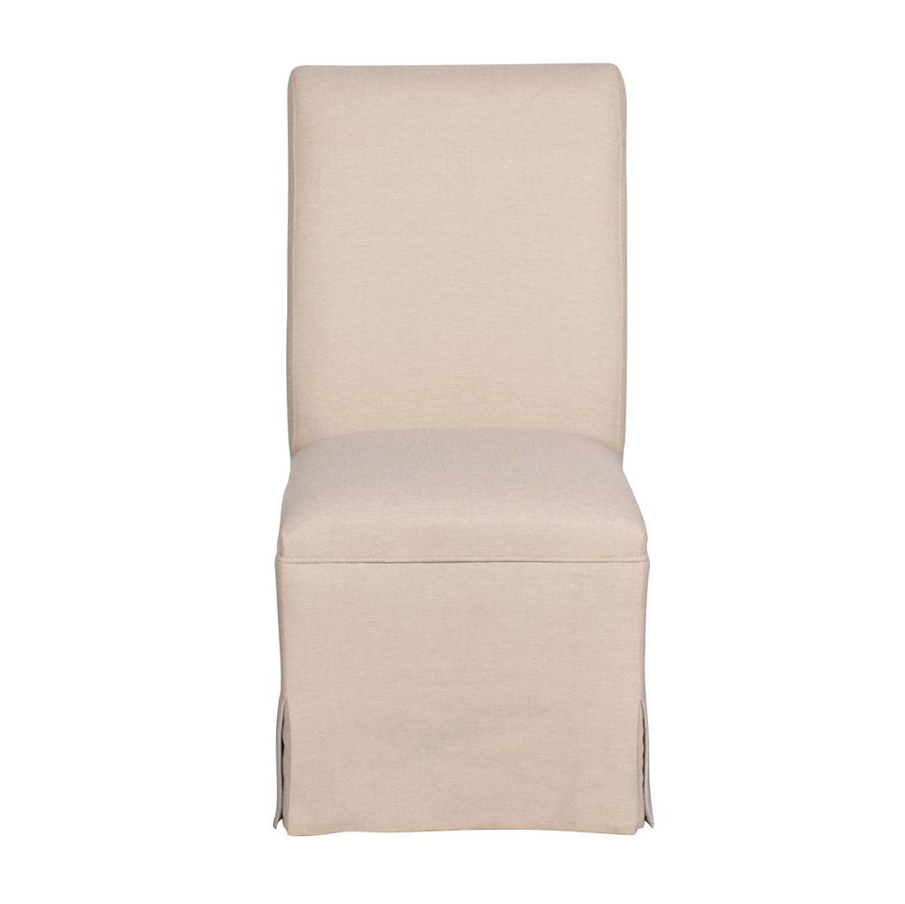 Barcelona Slip Cover Chair - Head On View