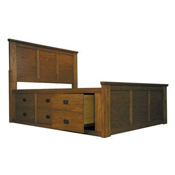 Picture of Mission Hill Captains Bed - Queen