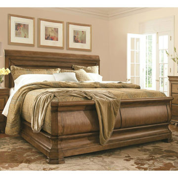Picture of New Lou Sleigh Bed - Queen