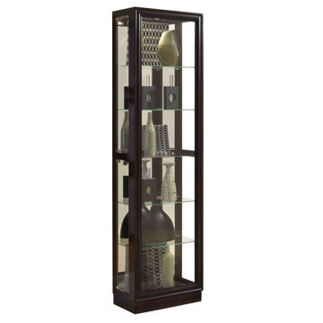 Marcus Cherry Brown Curio Cabinet