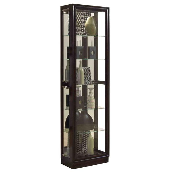 Marcus Cherry Brown Curio Cabinet