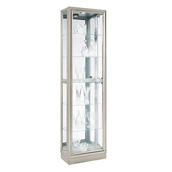 Picture of Felix Silver Curio Cabinet