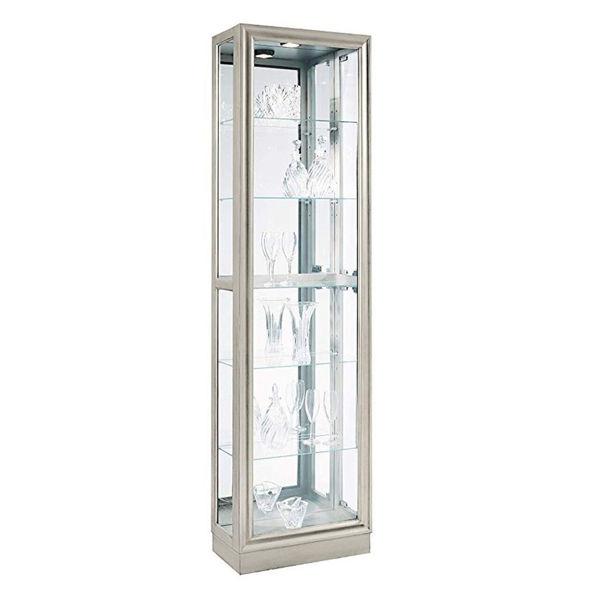 Felix Silver Curio Cabinet