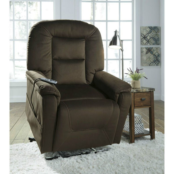 Michelle Heat and Massage Power Lift Recliner