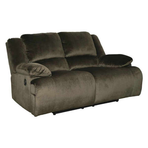 Picture of Cibola Reclining Loveseat - Chocolate