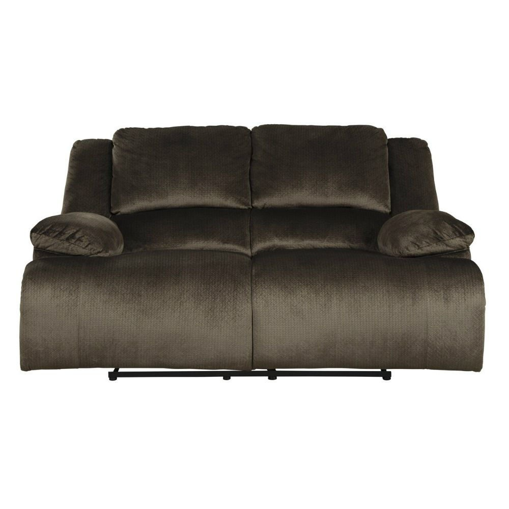 Cibola Reclining Loveseat - Chocolate - Front