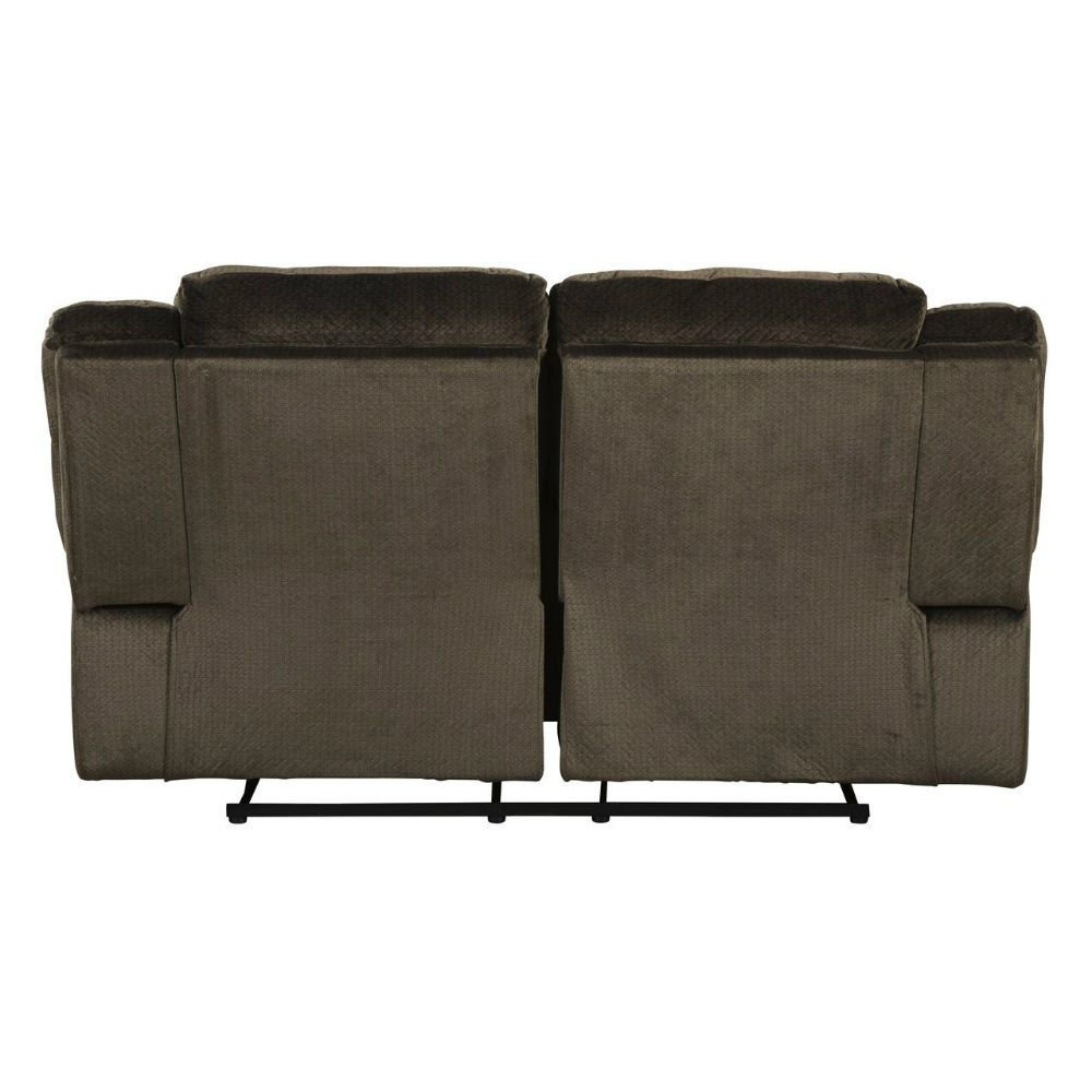 Cibola Reclining Loveseat - Chocolate - Rear