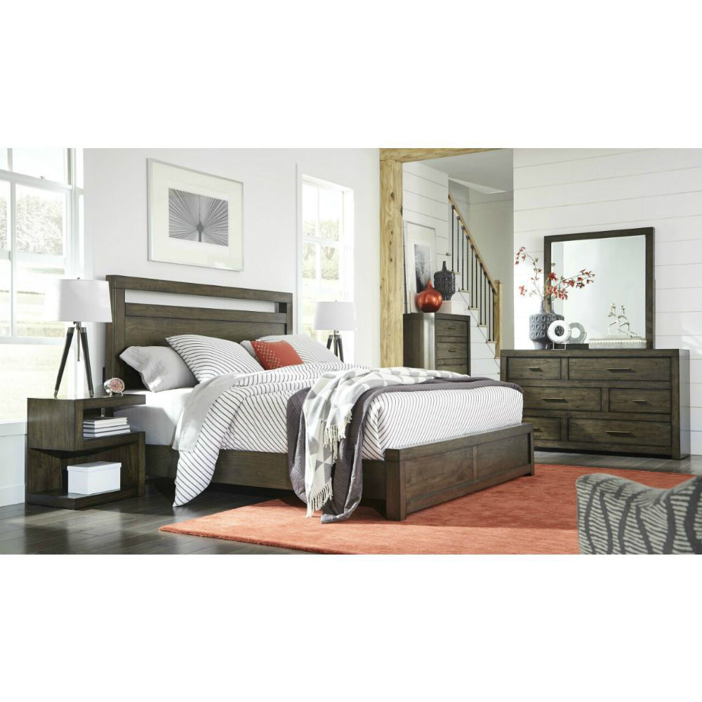 Picture of Modern Loft Panel Bed