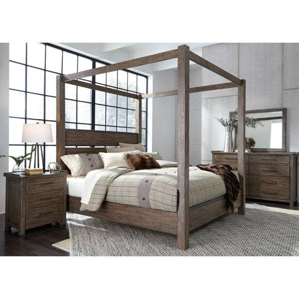 Picture of xxSonoma Road Canopy Bed