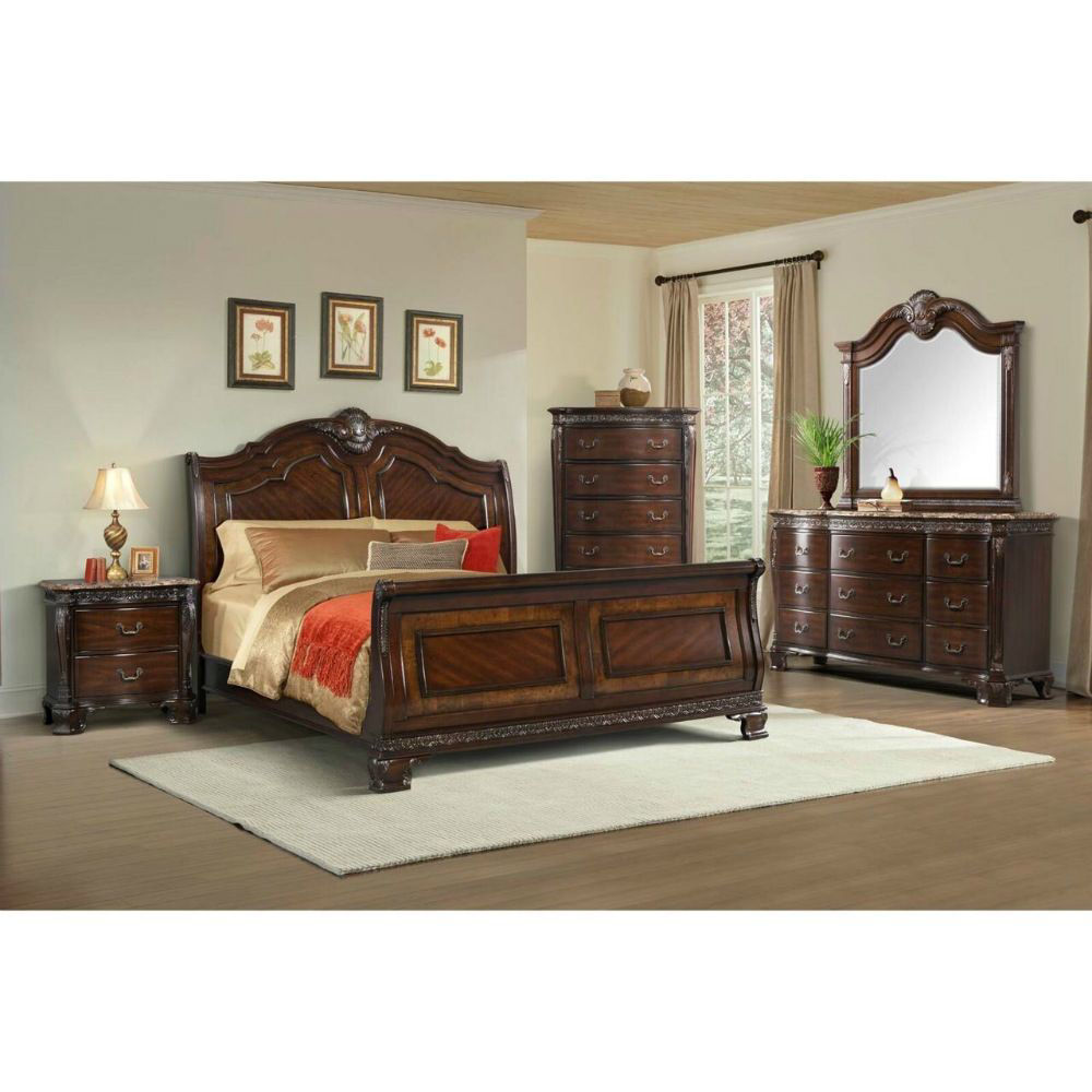 Picture of SOUTHERN BELLE SLEIGH BED