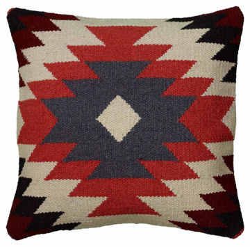 Bright Tribal Kilim Pillow