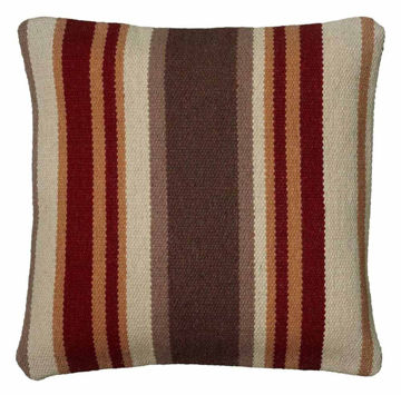 Striped Southwestern Pillow
