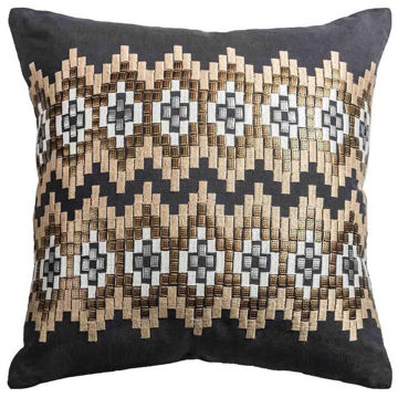 Ikat Chevron Pillow