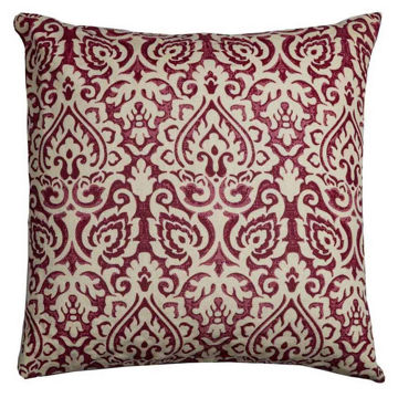 Picture of Crimson Damask Pillow