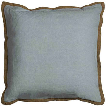 Aqua Flange Pillow