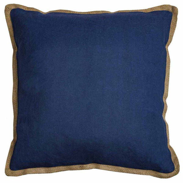 Blue Flange Pillow