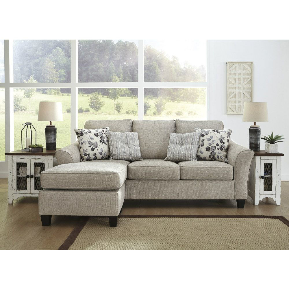 Leslie Sofa Chaise - Front