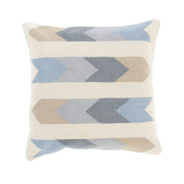 Native American Pattern Pillow - Beige